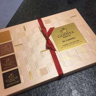 Godiva 4種濃度純朱古力,比利時入口,有效期至2018/12/29
