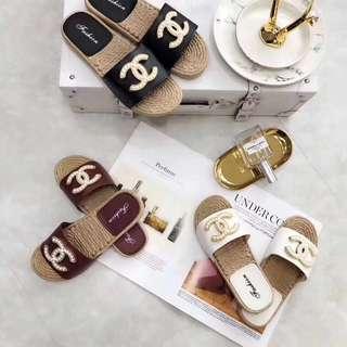 秒殺❗️Chane*珍珠拖鞋