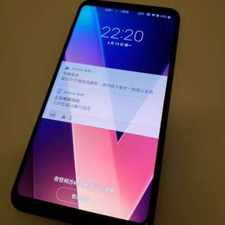97% 新黑色 LG V30+ V30 Plus H930DS 128GB 行貨 2年保養