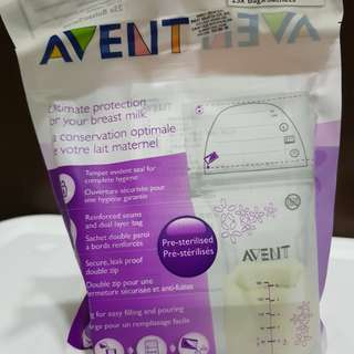 Philips AVENT 6oz/180ml breast milk storage bags