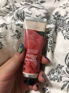 Loccitane hand cream rose