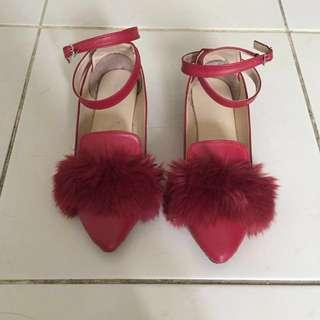 Shoes fur flats size 39