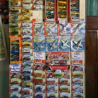 Collectibles matchbox and hot wheels 555pcs take all