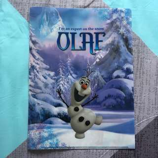 Disney Frozen A4 folder (Olaf)