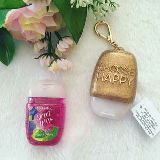 Bath and Body Works Choose Happy Pocket Bac Holder