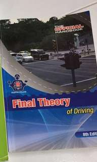Final Theory Test Driving Book