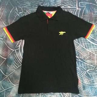 Young Guns Arsenal polo ringer
