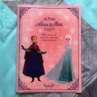 Disney Frozen A4 folder (Anna&Elsa)