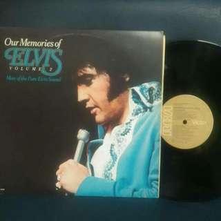 Vinyl elvis presley our memories vol 2