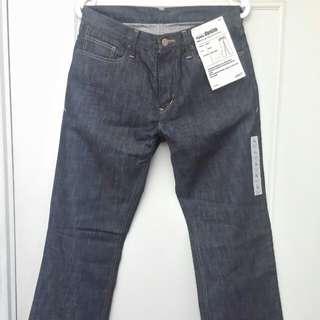 🚚 全新品 無印良品 MUJI 有機棉單寧牛仔褲 76x85
