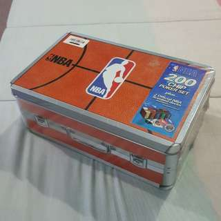Legit Brand New With Box NBA 200 Chip Poker Set