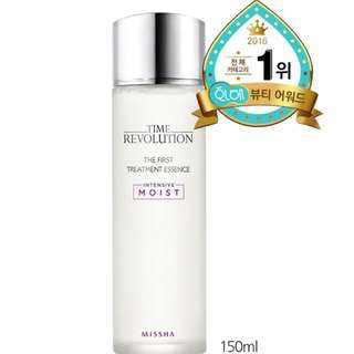 (INSTOCKS) MISSHA Time Revolution The First Treatment Essence [Intensive Moist]
