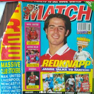 Match - Redknapp/ Man City King Georgi (UK edition 1995)