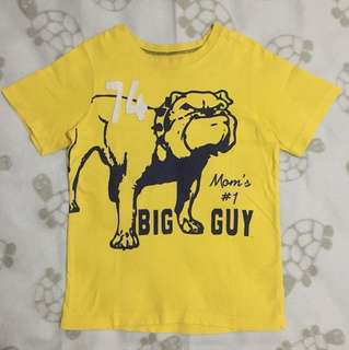 Carter's Mom's #1 Big Guy Shirt