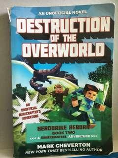 Minecraft novel