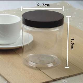 8oz Clear Plastic Containers