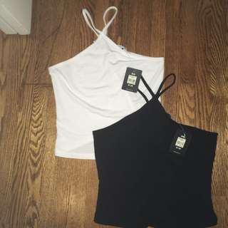 Two Halter Tops For $10