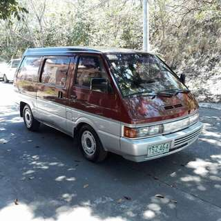 nissan vanette acquired 1999 10 seater
