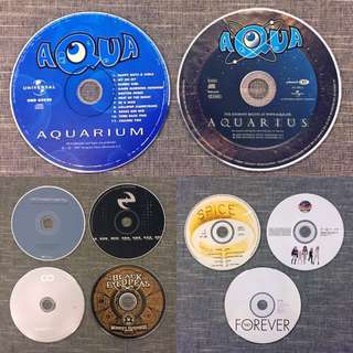 CD Only (The Black Eyed Peas / hoobastank / Matchbox Twenty / Spice Girls...)