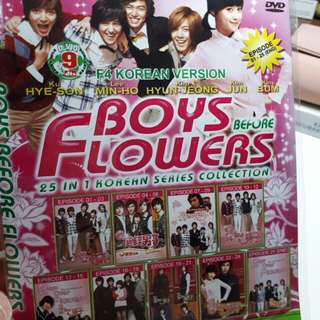 DVD Drama Korea: Boys Before Flower
