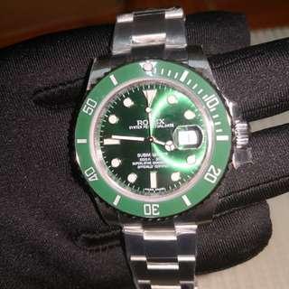 Rolex' Submariner Hulk 1:1