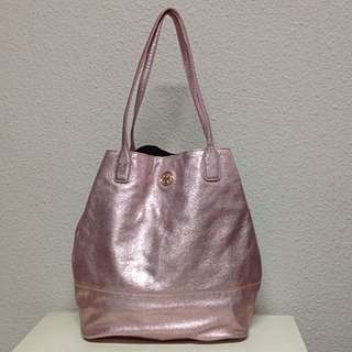 *BRAND NEW* Tory Burch Metallic Michelle Tote Bag