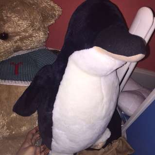 Stuffed penguin