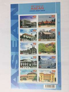 Singapore 2007 40 years of ASEAN mnh