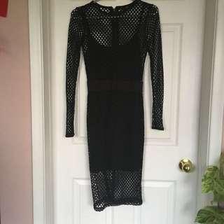 Kim K Replica Mesh Dress