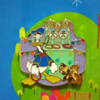 Donald 連盒 Disney pin 迪士尼徽章 襟章