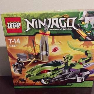 Brand New Original Lego Ninjago 9447