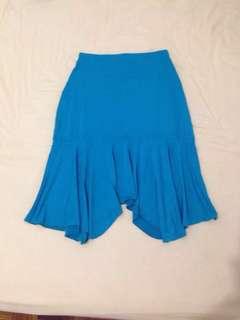 💃skirt - mid length turquoise #FEB50