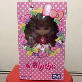 Neo Blythe Ribbonetta Wish Hello Kitty Doll