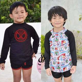 Kids rashguard set