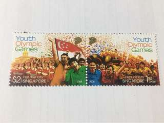 Singapore 2008 Youth olympics games mnh