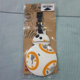 Replica Brand New Sealed Star Wars BB-8 Rubber Luggage Bag Tag