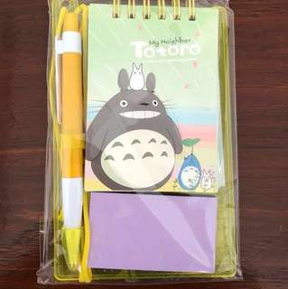 [Free]Totoro stationery set