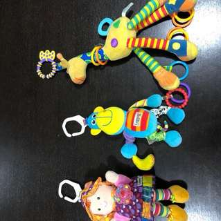 Lamaze soft toys