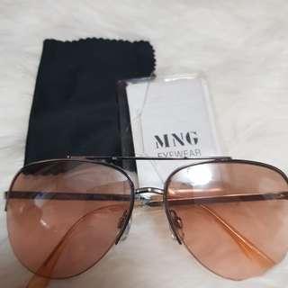 [SALE] Mango Pink Lens Fashion Sunglasses