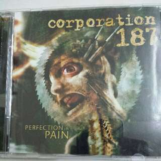 Music CD (Metal): Corporation 187–Perfection In Pain - Death Metal