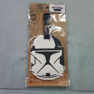 Replica Brand New Sealed Star Wars Stormtrooper Rubber Luggage Bag Tag