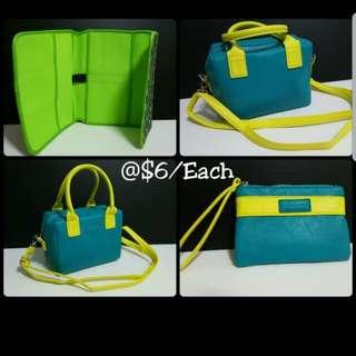 Authentic Tupperware Bag  《@$6.00/Each》 green