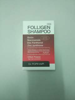 Folligen Shampoo - Hair Loss Prevention