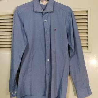 Men's Penguin Chambray Oxford Shirt