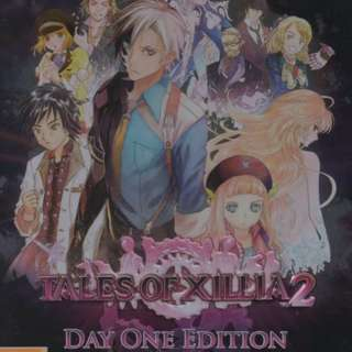 PS3 Tales of Xillia 2 ( Day One Edition )
