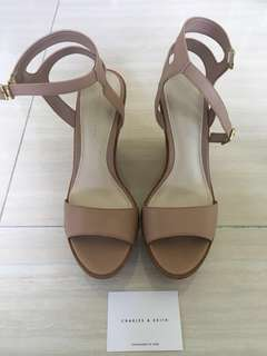 Charles & Keith Wedges Heels