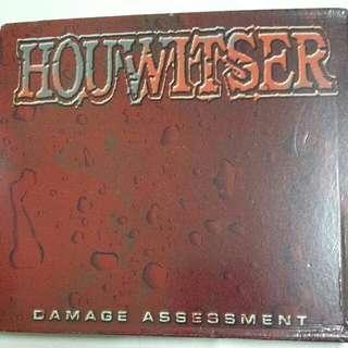 Music CD (Metal): Houwitser–Damage Assessment - Death Metal