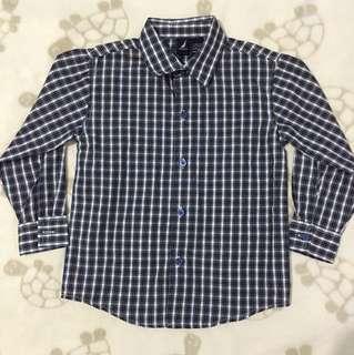 Nautica Checkered Long Sleeved Shirt
