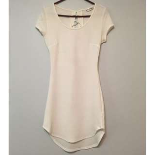 White Dress With A Tie Closure *REDUCED*