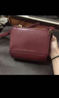 Charles & Keith box bag